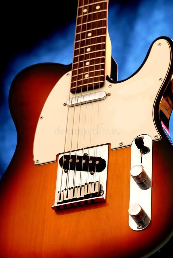 Guitarra eléctrica 9 fotos de archivo