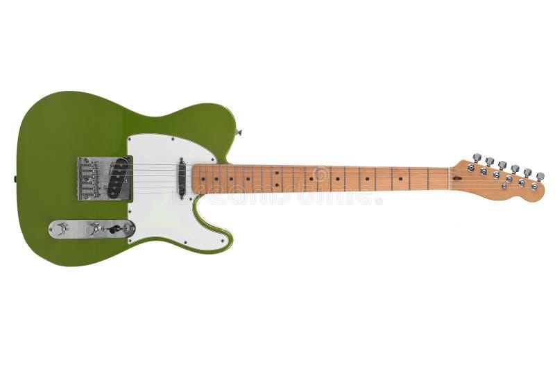 Download Guitarra elétrica imagem de stock. Imagem de isolado - 16857121