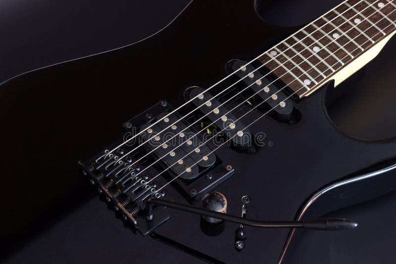 Guitarra elétrica imagem de stock royalty free