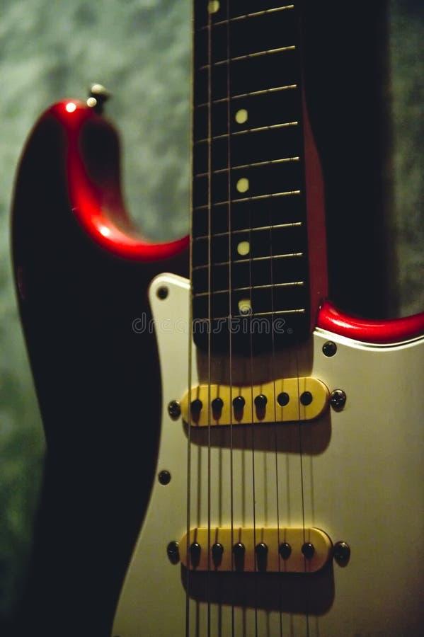 Guitarra elétrica clássica foto de stock