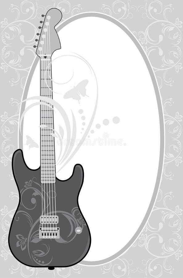 Encantador Marco De La Foto De La Guitarra Elaboración - Ideas ...