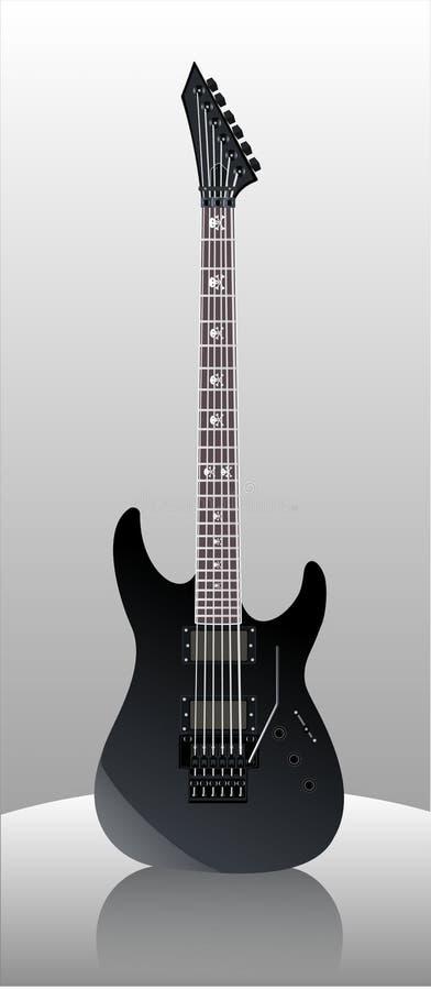 Guitarra KH ilustração do vetor