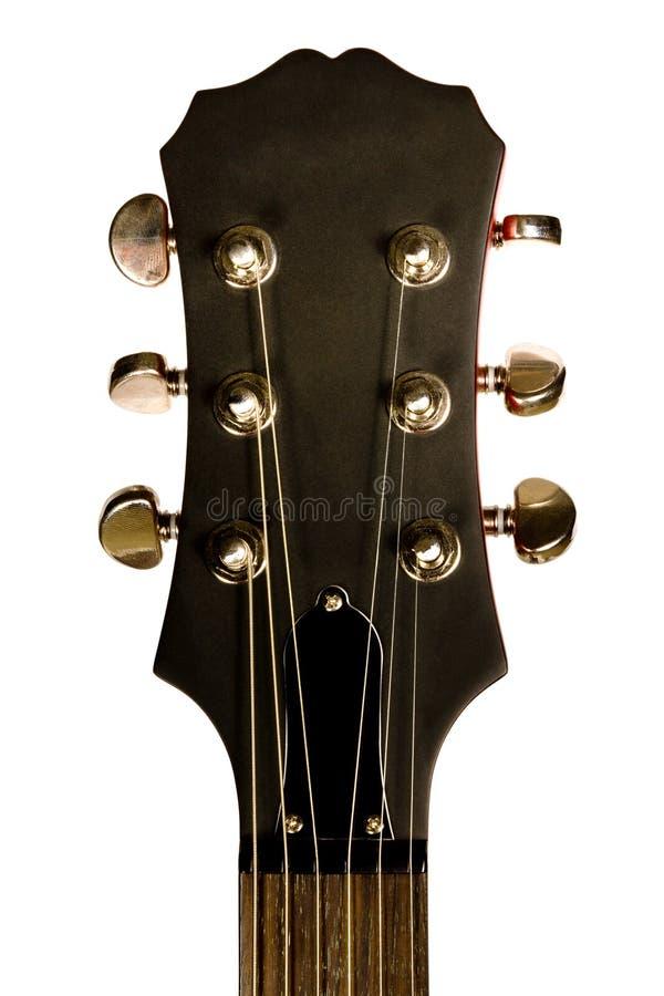 Guitarra principal del primer fotos de archivo