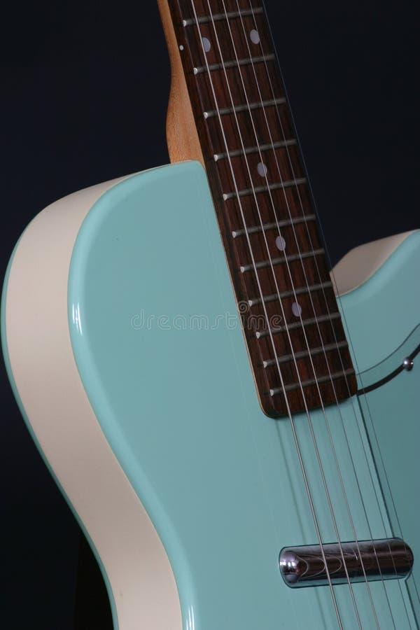 Download Guitarra retro foto de stock. Imagem de músico, rocha, música - 109896
