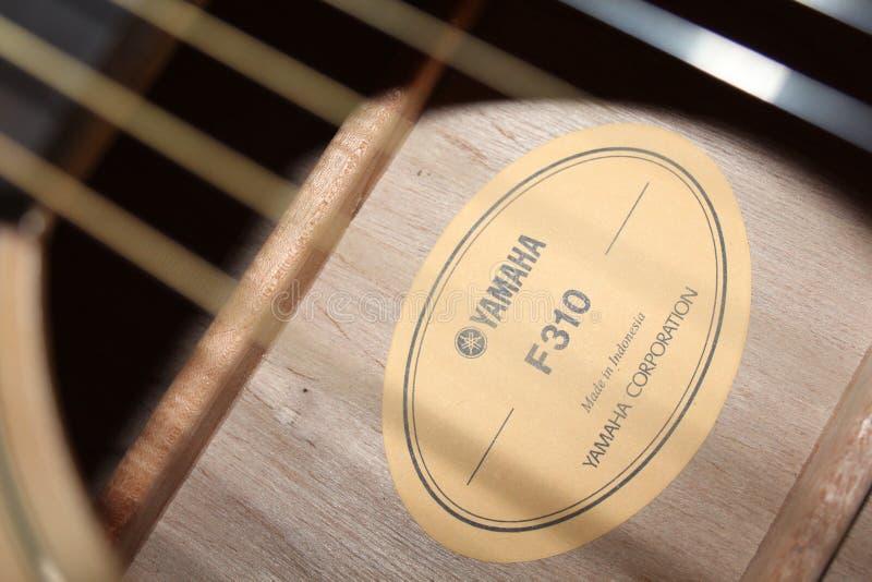 Guitarra Yamaha F310 imagen de archivo