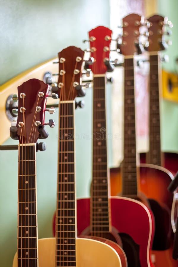 Guitarras foto de archivo libre de regalías