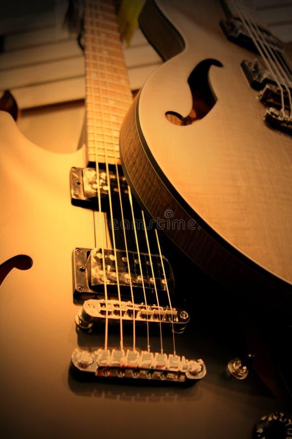 Guitarras fotografía de archivo