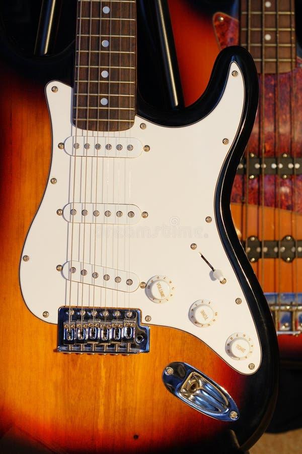 Guitarras eléctricas fotografía de archivo