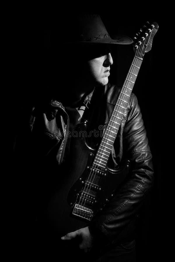 Guitarrista foto de stock