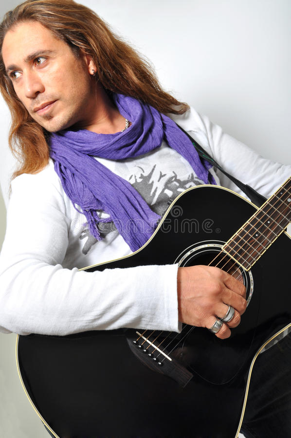 Guitarrista fotos de stock royalty free
