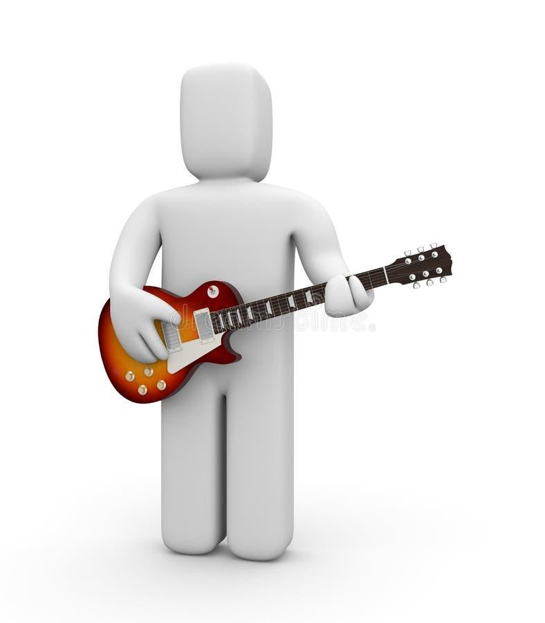 Guitarrista libre illustration