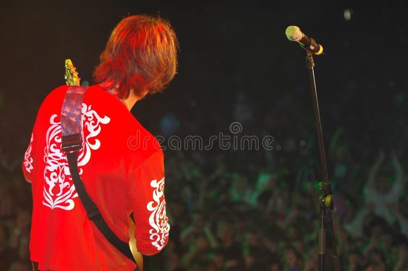 Guitarrista 4 foto de archivo
