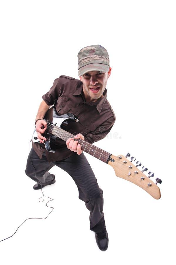 Download Guitarrista foto de archivo. Imagen de hombre, músico - 7276010