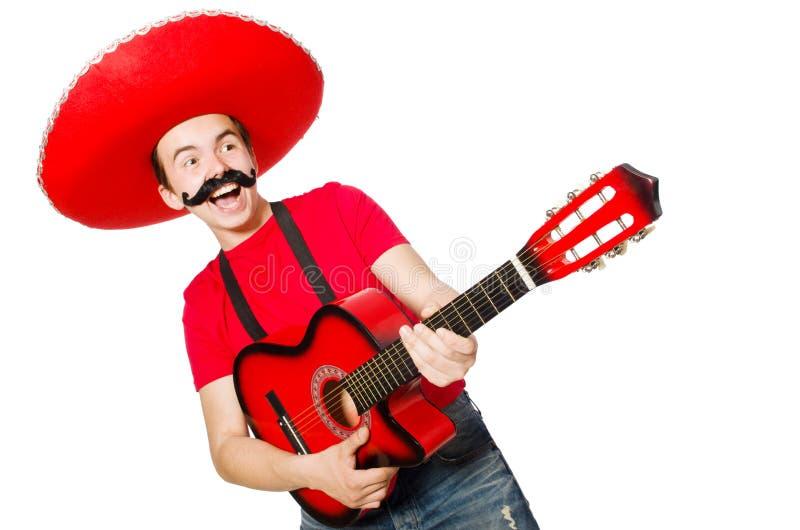 Download Guitarrista Mexicano Aislado Imagen de archivo - Imagen de concierto, disco: 41915979