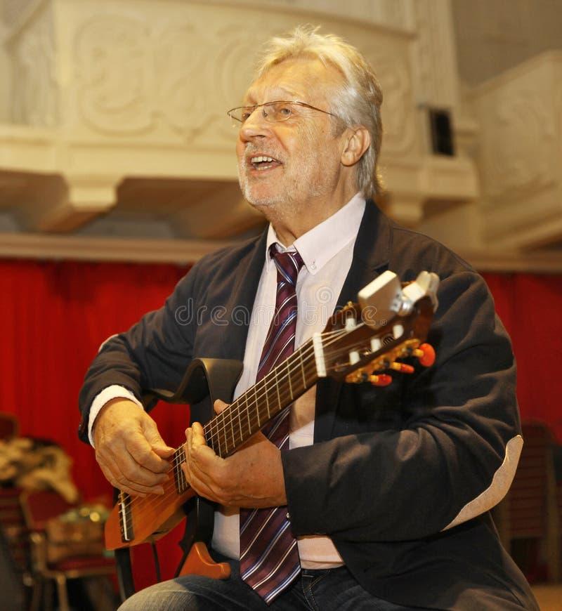 Guitarrista y compositor belgas de Francis Goya imagen de archivo libre de regalías