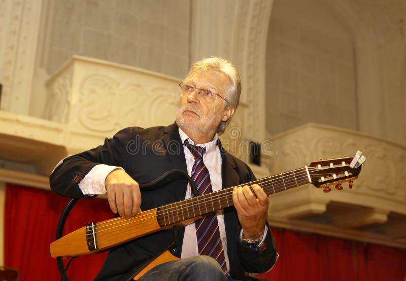 Guitarrista y compositor belgas de Francis Goya fotos de archivo libres de regalías