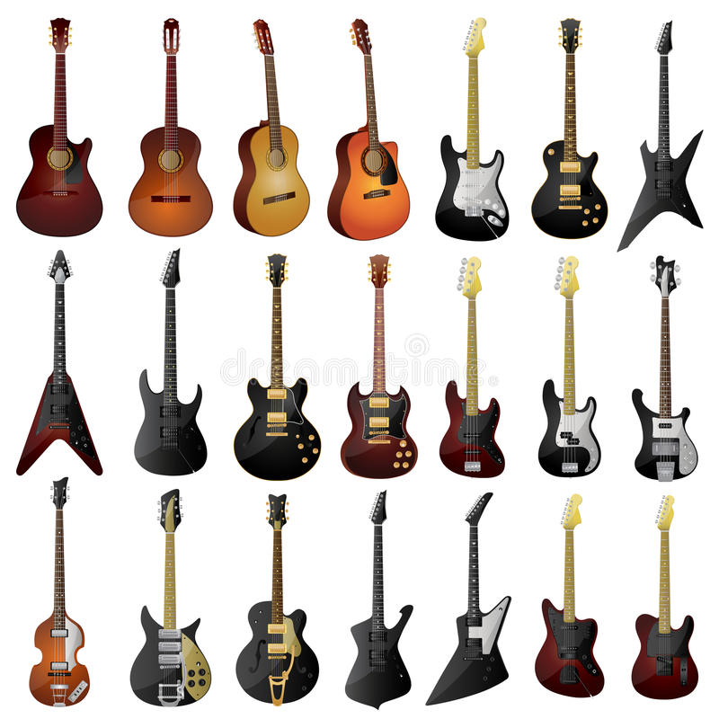 Download Guitars Royalty Free Stock Images - Image: 14460849