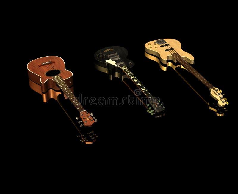 Download Guitars stock illustration. Image of people, mirror, plec - 2762131