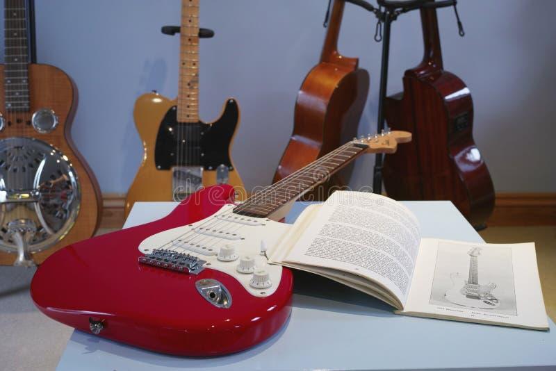 guitars stock foto