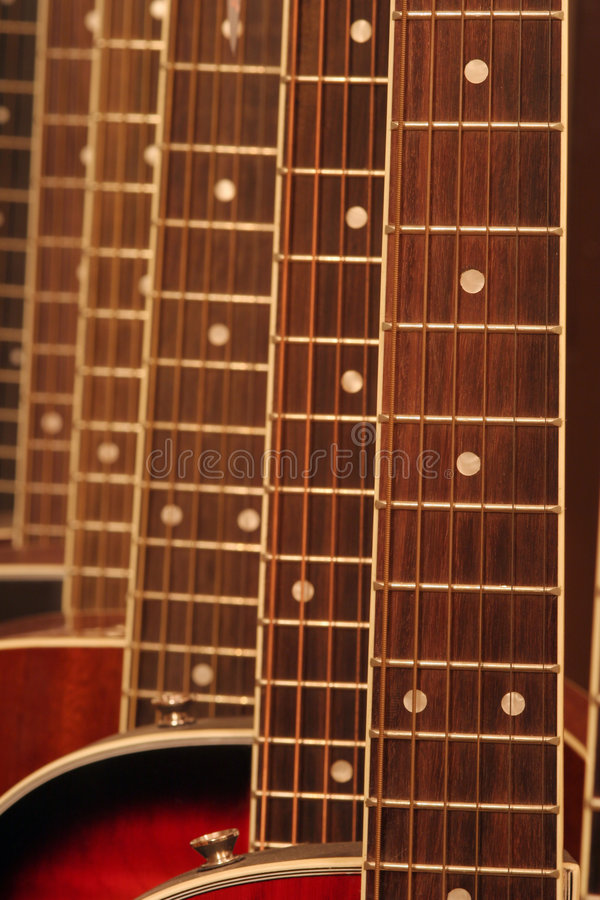 Guitars stock image