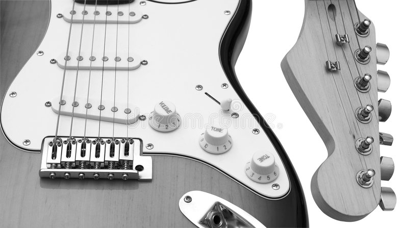 Guitars. royalty free stock images