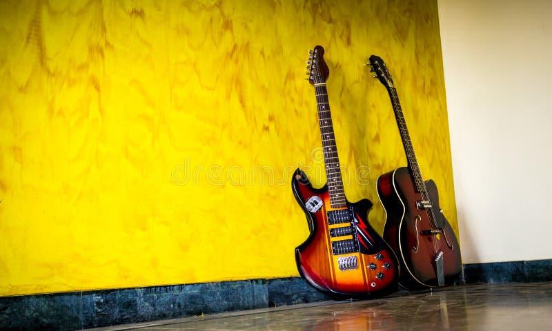 Guitars royalty free stock photography