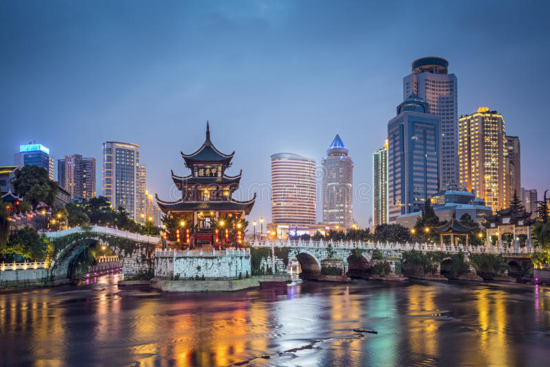 Guiyang, Κίνα στοκ φωτογραφία