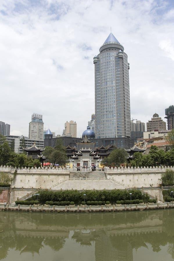Guiyang, Китай стоковое изображение rf