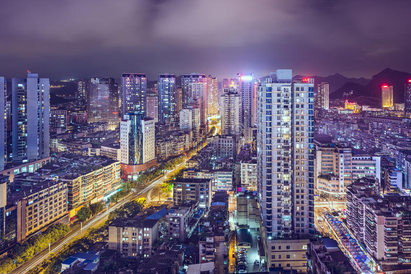 Guiyang, Китай стоковые фотографии rf