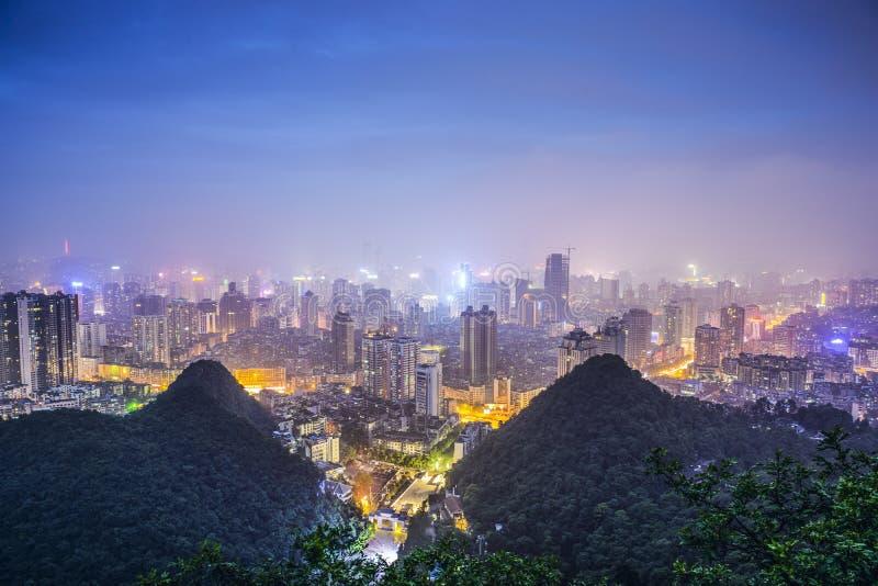 Guiyang, Китай стоковое фото rf
