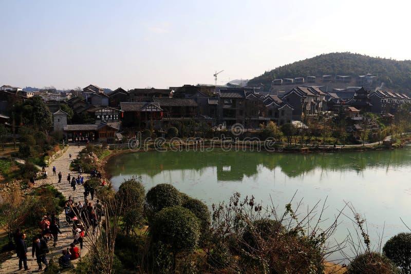 Guiyang antyczny miasteczko zdjęcie royalty free