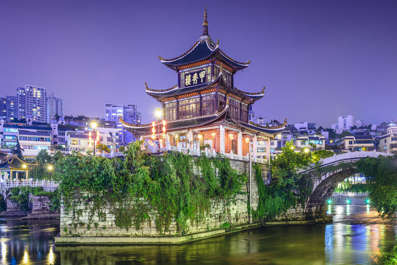 Guiyang, Chine photo stock