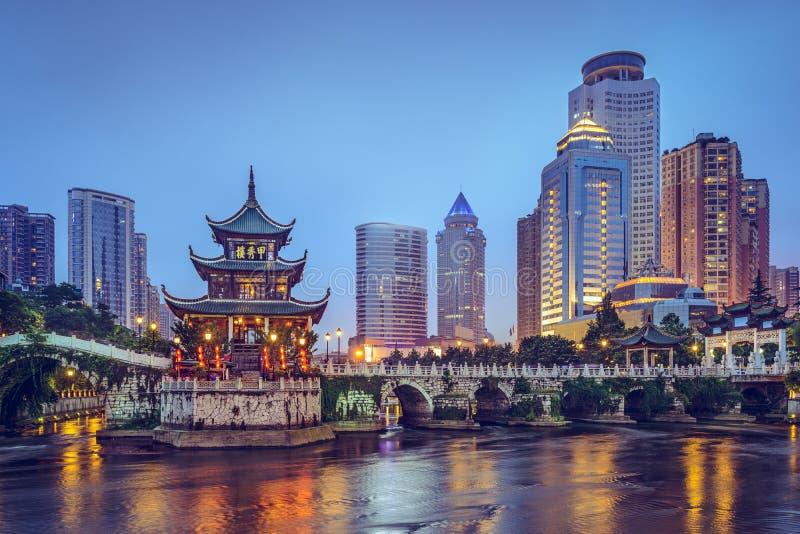 Guiyang, Chine image libre de droits