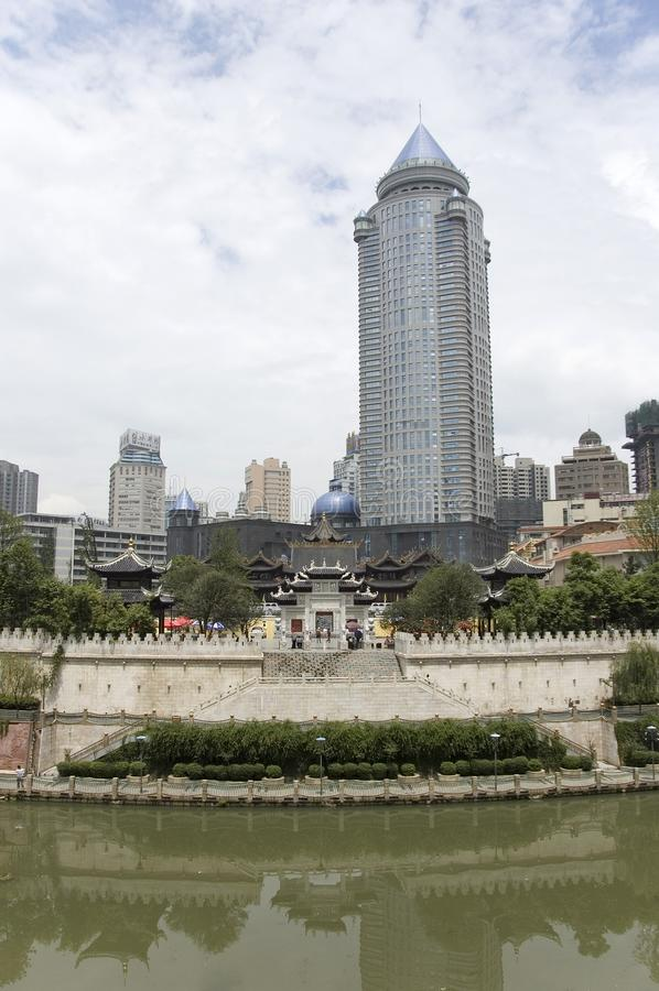 Guiyang Kina royaltyfri bild