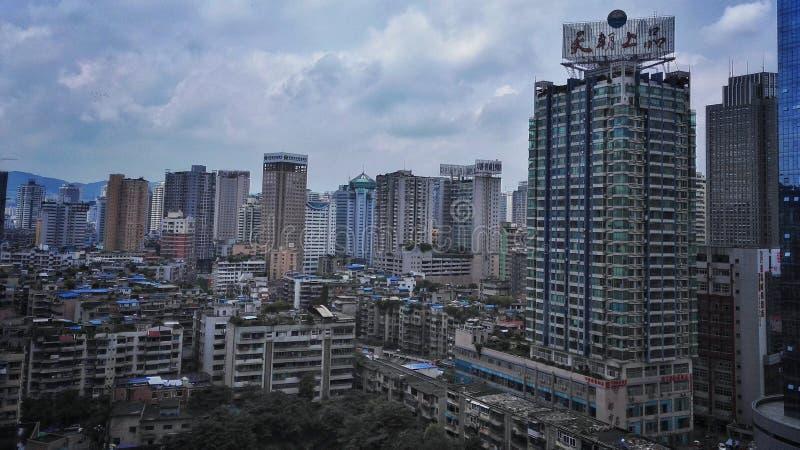Guiyang landskap fotografering för bildbyråer