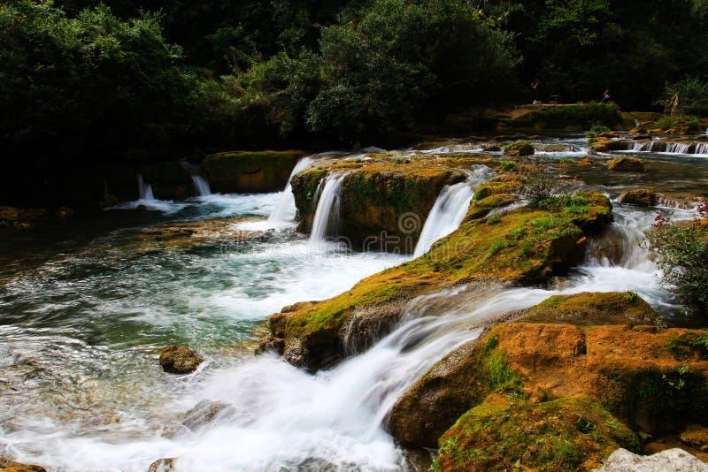 Guizhou Libo xiaoqikong Scenic Area stock image
