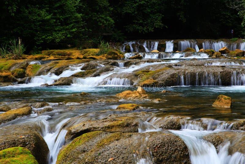 Guizhou Libo xiaoqikong Scenic Area royalty free stock image