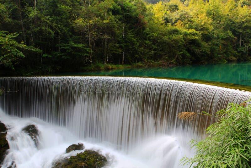 Guizhou Libo xiaoqikong Scenic Area royalty free stock photo