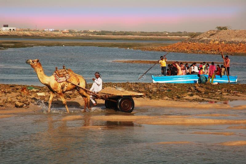Gujarat in India stock afbeelding