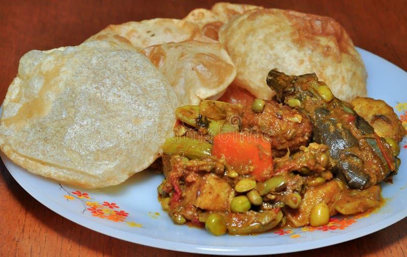 Gujarati Thali Stock Images