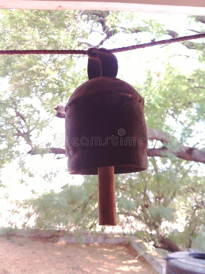 Gujrati-Glocken lizenzfreies stockfoto
