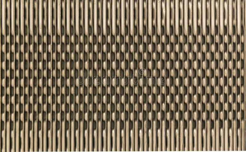 Gul abstrakt bakgrund på baserat av metall royaltyfria bilder