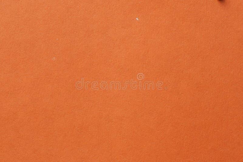 Gul färgkartong Ren textur för orange papper Foto med hög upplösning Tomma orangefärgade bakgrunder royaltyfria foton