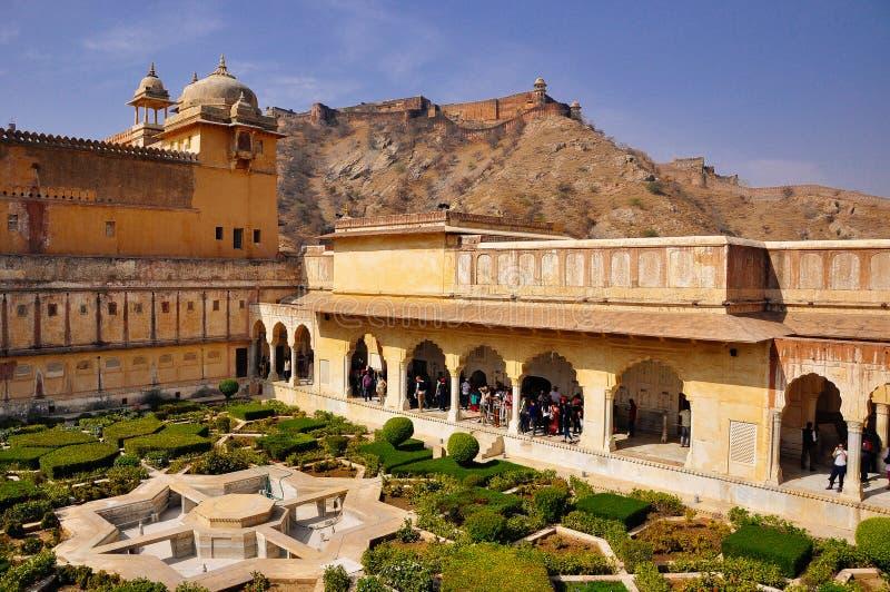gul fort india jaipur royaltyfri fotografi