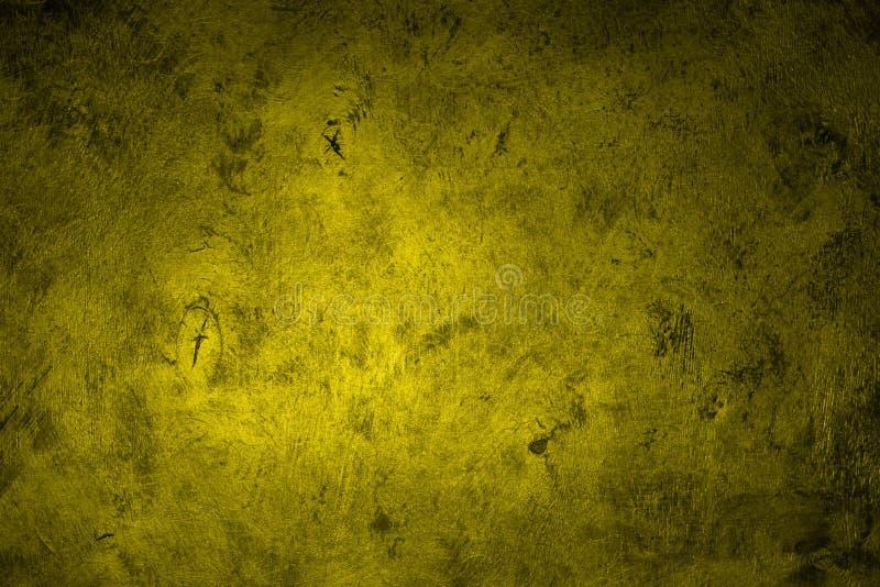 Gul glansig tonad yttersidatextur för design - nätt abstrakt fotobakgrund arkivfoton