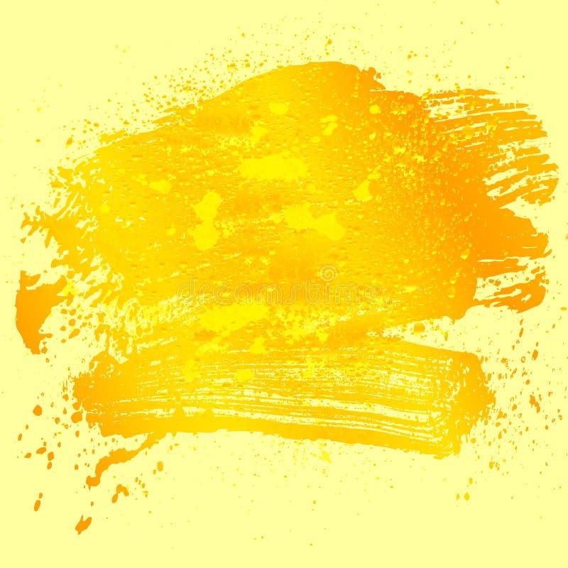 Gul guld 01 för fläck 07 stock illustrationer