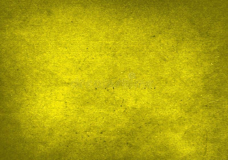 Gul lutning texturerad bakgrundstapetdesign arkivbild