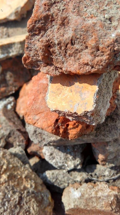 gul naturtapet för sten arkivbilder