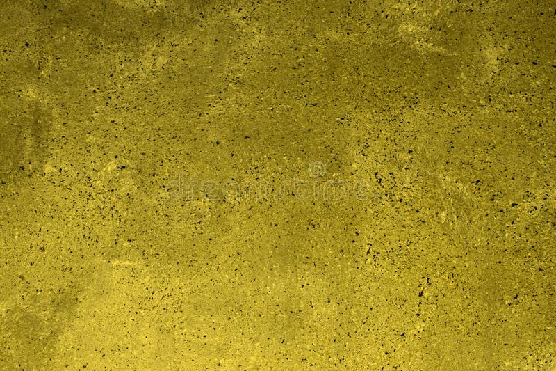 Gul prickig smutsig murbruk på kvartertexturen - fantastisk abstrakt fotobakgrund royaltyfria bilder