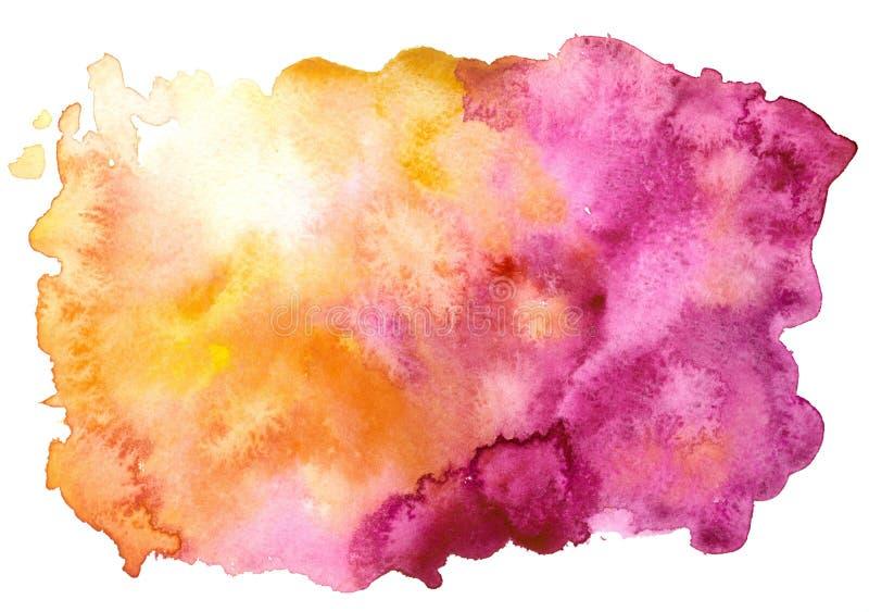 Gul purpurfärgad bakgrund arkivfoto